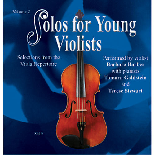 Alfred Solos for Young Violists Vol. 2 (CD)
