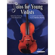 Alfred Solos for Young Violists Vol. 5 (Book)