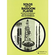 G. Schirmer Solos for the Bassoon Player Woodwind Solo Series by Various Edited by Sol Schoenbach