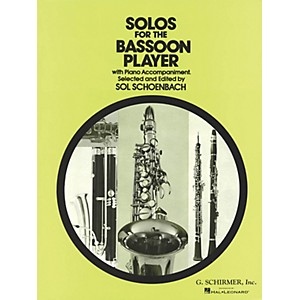 G. Schirmer Solos for the Bassoon Player Woodwind Solo Series by Various Ed... by G. Schirmer