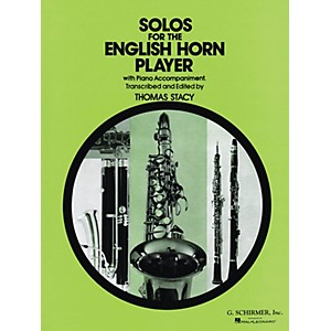 G. Schirmer Solos for the English Horn Player Woodwind Series Composed by V... by G. Schirmer