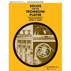 G. Schirmer Solos for the Trombone Player Brass Solo Book/Audio Online Edit...