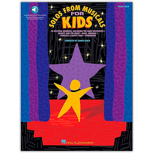 Hal Leonard Solos from Musicals for Kids (Book/Online Audio)-thumbnail