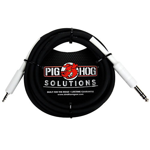 Pig Hog Solutions 1/4 TRS to 1/8 Mini Adapter Cable-thumbnail