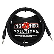 Pig Hog Solutions 3.5mm TRS to 3.5mm TRS Adapter Cable (3 ft.)