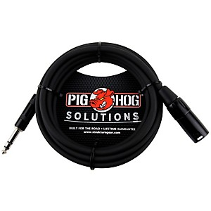 Pig Hog Solutions TRSM to XLRM Balanced Adapter Cable