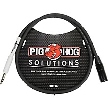 "Pig Hog Solutions XLR(M) to 1/4"" TRS Adapter Cable (3 ft.)"