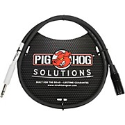 """Pig Hog Solutions XLR(M) to 1/4"""" TRS Adapter Cable (3 ft.)"""