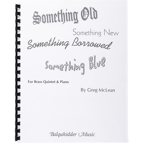Carl Fischer Something Old, Something New, Something Borrowed, Something Blue-thumbnail
