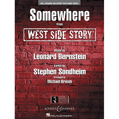 Hal Leonard Somewhere (From West Side Story) - Discovery Plus! Band Series Level 2-thumbnail