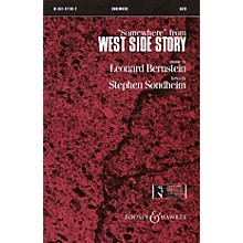 Leonard Bernstein Music Somewhere (from West Side Story) (SATB) SATB Arranged by William Stickles