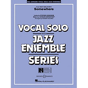 Hal Leonard Somewhere from west Side Story Full Score Jazz Band by Hal Leonard