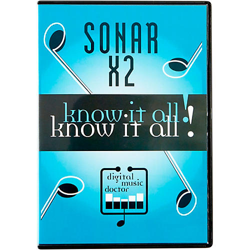 Digital Music Doctor Sonar X2 Know It All! DVD-thumbnail