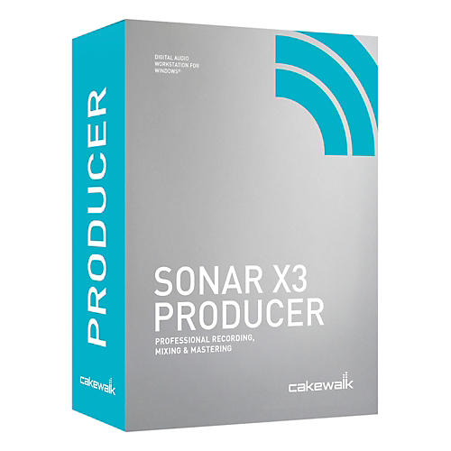 Cakewalk Sonar X3 Producer Edition-thumbnail