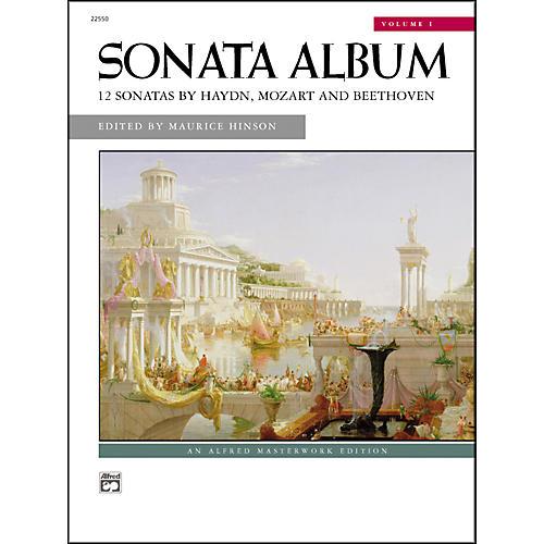 Alfred Sonata Album Volume 1 Intermediate/Early Advanced Piano-thumbnail