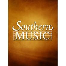 Southern Sonata No. 1 (1989) (Alto Sax) Southern Music Series  by Charles W. Smith