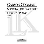 Lauren Keiser Music Publishing Sonata for English Horn and Piano LKM Music Series Composed by Carson Cooman