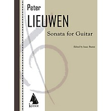 Lauren Keiser Music Publishing Sonata for Guitar LKM Music Series Composed by Peter Lieuwen