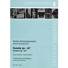 Sikorski Sonata for Violoncello and Piano String Series