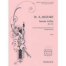 Simrock Sonata in A Major, K. 331 Composed by Wolfgang Amadeus Mozart Arranged by Heribert Breuer