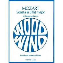 Chester Music Sonata in B-Flat Major, K.292 Music Sales America Series