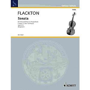 Schott Sonata in C Op. 2, No. 4 Viola and Piano Harpsichord Schott Seri... by Schott