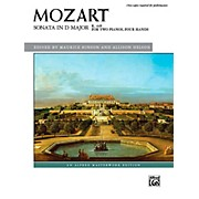 Alfred Sonata in D Major, K. 448 - Advanced Book (2 copies required)