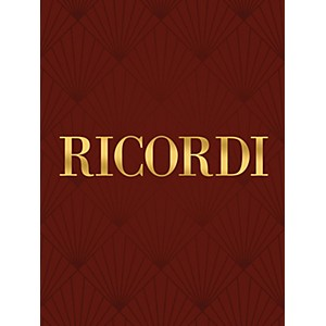 Ricordi Sonata in G Violin and Piano String Series by Ricordi