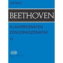 Editio Musica Budapest Sonatas - Volume 3 EMB Series Composed by Ludwig van Beethoven