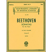 G. Schirmer Sonatas for Piano Volume 2 Urtext By Beethoven