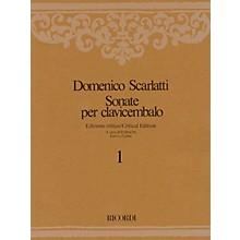 Ricordi Sonate per Clavicembalo Volume 8 Critical Edition Piano Collection by Scarlatti Edited by Emilia Fadini