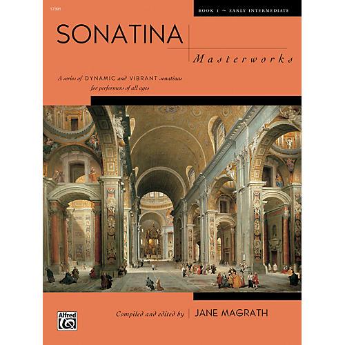 Alfred Sonatina Masterworks Piano Book 1-thumbnail
