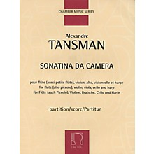 Max Eschig Sonatina da camera (Score) Editions Durand Series Composed by Alexandre Tansman