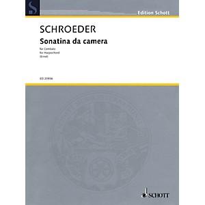 Hal Leonard Sonatina da camera for Cembalo or Harpsichord Schott Series S... by Hal Leonard