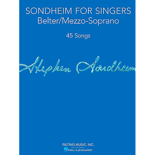 Hal Leonard Sondheim For Singers - Belter/Mezzo-Soprano-thumbnail