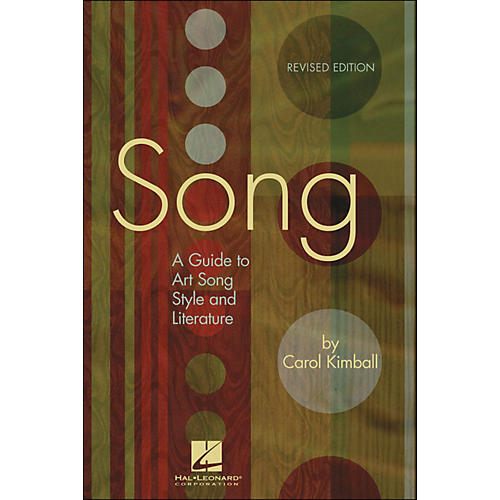 Hal Leonard Song: A Guide To Art Song Style And Literature-thumbnail
