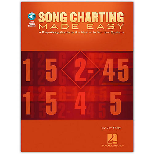 Hal Leonard Song Charting Made Easy - Guide To The Nashville Number System Play-Along (Book/Online Audio)-thumbnail