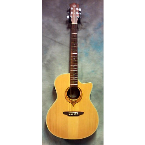 Luna Guitars Song Gc Acoustic Electric Guitar Natural