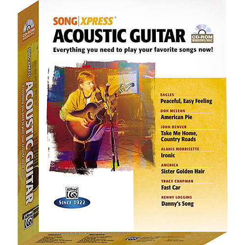 Alfred SongXpress - Acoustic Guitar CD-Rom-thumbnail