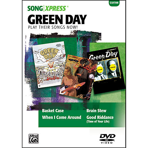 Alfred SongXpress - Green Day Guitar DVD