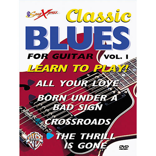 Alfred SongXpress Classic Blues For Guitar - Volume 1 (DVD)