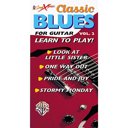Alfred SongXpress Classic Blues for Guitar - Volume 2 Video-thumbnail
