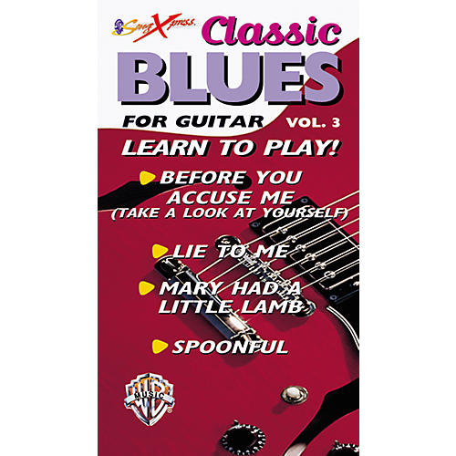 Alfred SongXpress Classic Blues for Guitar - Volume 3 Video