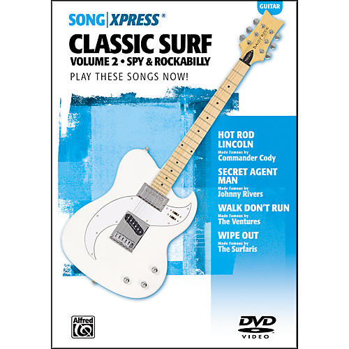 Alfred SongXpress Classic Surf Guitar Volume 2 DVD