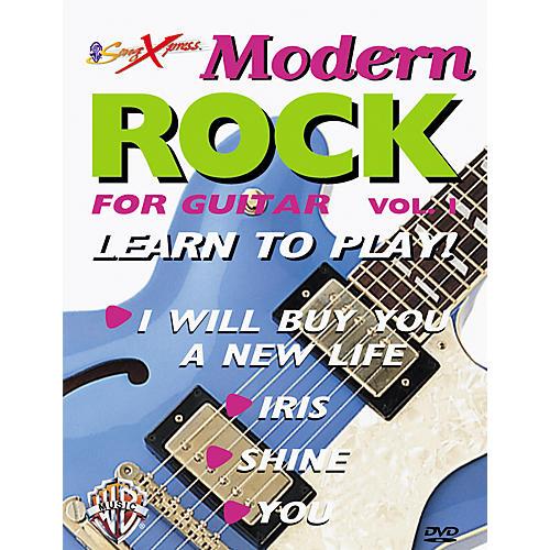 Alfred SongXpress Modern Rock for Guitar - Volume 1 (DVD)-thumbnail