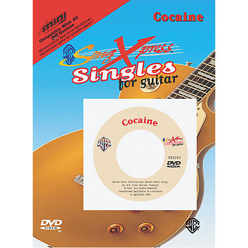 Alfred SongXpress Singles - Cocaine Mini DVD