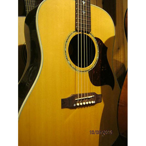 Gibson Songbird Deluxe Acoustic Electric Guitar Natural