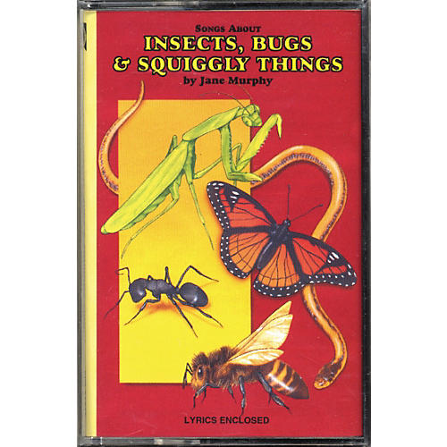 Kimbo Songs About Insects, Bugs and Squiggly Things Cassette/Guide