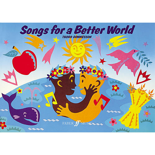 Hal Leonard Songs For A Better World - Children's Songbook for Vocal/Piano/Guitar-thumbnail