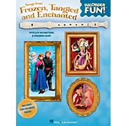 Hal Leonard Songs From Frozen, Tangled And Enchanted - Recorder Fun! Songbook